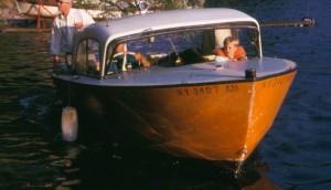 """Calumet Island Orange"" ferry boat used in the 60's"