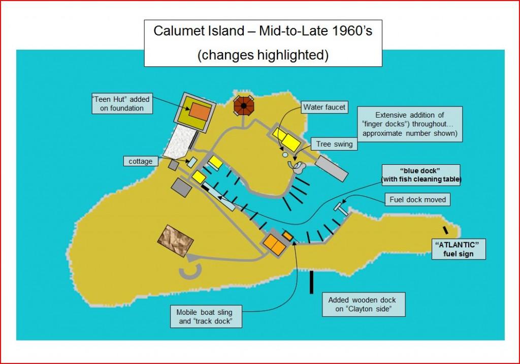 Calumet Island in the 1000 Islands